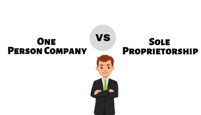 OPC vs Sole Propritorship