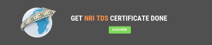 NRI TDS CERTIFICATE