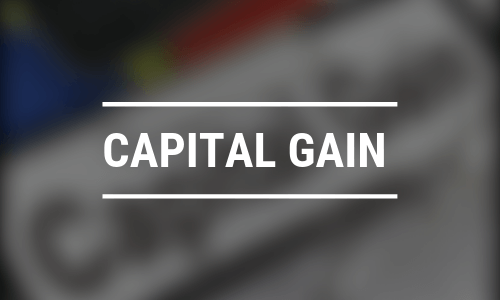 Capital gain tax on sale of property