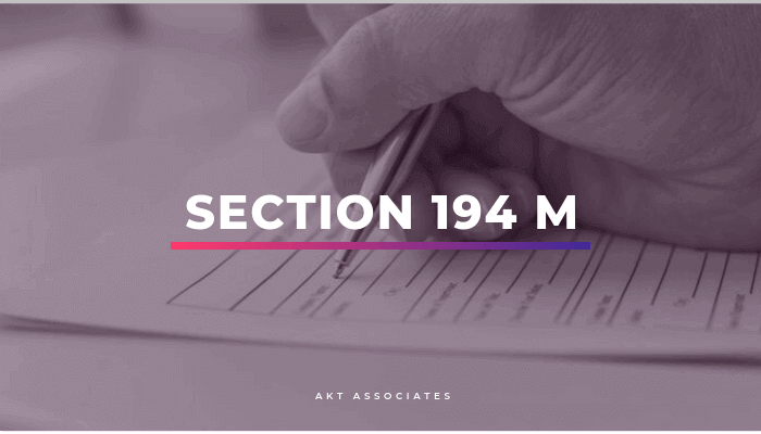 Section 194 M