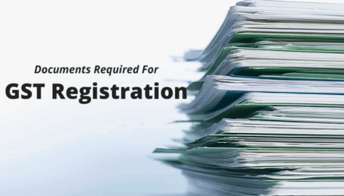 Document for gst registration