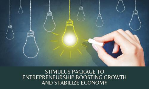 Stimulus package Entrepreneurship