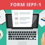 Form IEPF-1