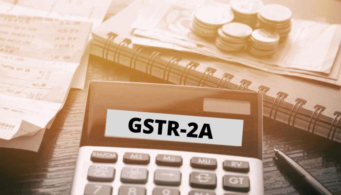 GSTR 2A Return filing process