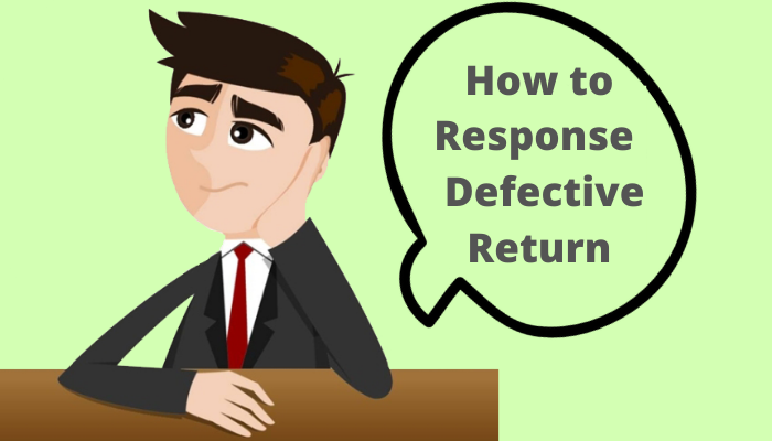 Reply to defective return notice
