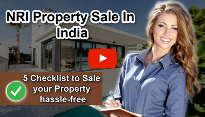 Nri selling property in india