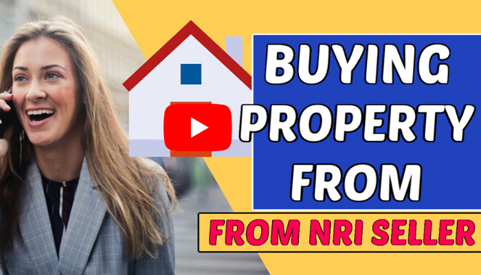 Buying property from nri seller