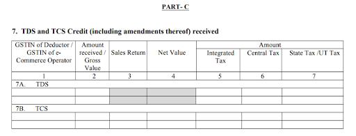 GSTR 2A Return Filing Process Step 7