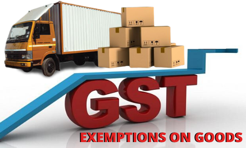GST Exemptions on Goods