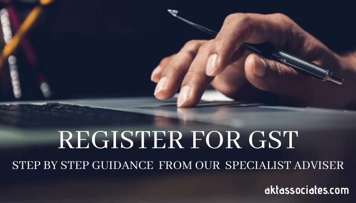 Register For GST Online