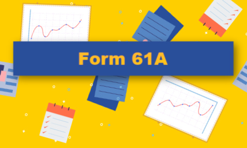 form 61a
