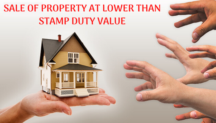 Sale of property at lower than Stamp duty value