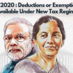 Exemption as per budget 2020