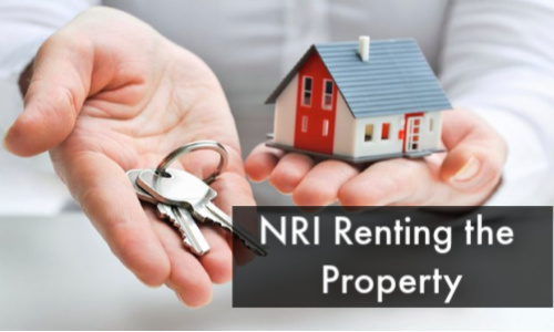 NRI Renting the Property